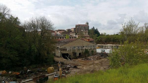 Friche des Tanneries Rozon, à Saint-Symphorien-sur-Coise